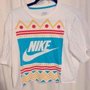 Nike crop tee